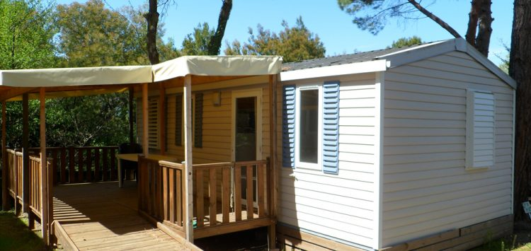 location mobil home camping Ceret
