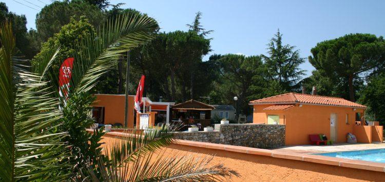 camping les pins le congo avec piscine