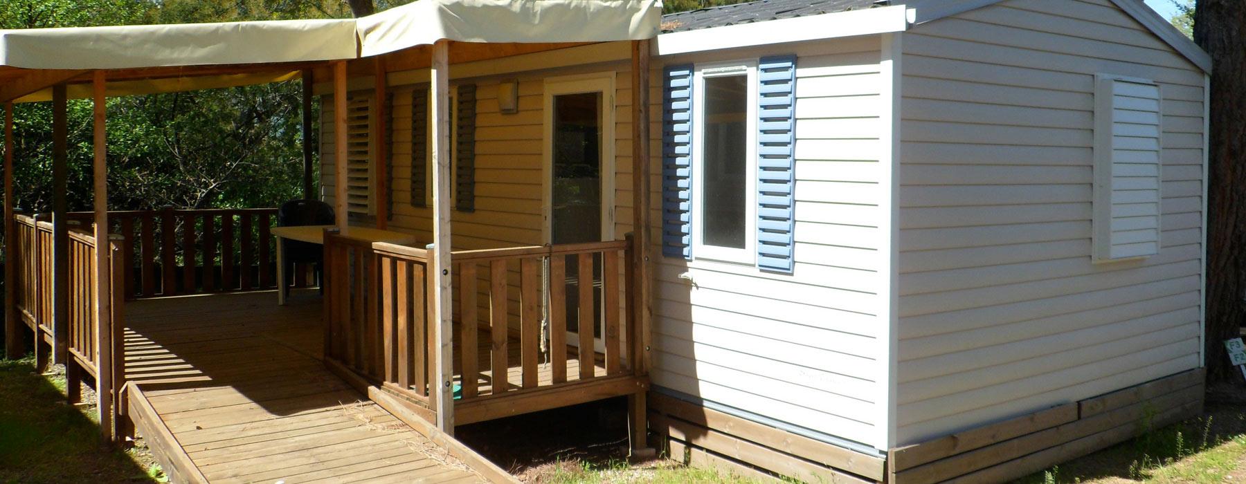 location mobil home pmr Pyrénées Orientales