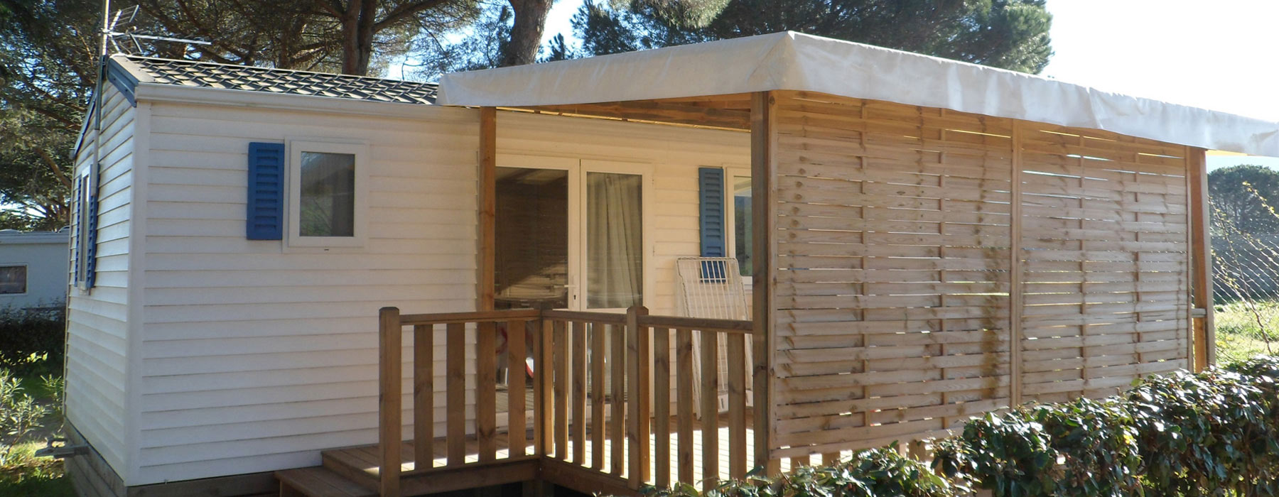 location mobil home Ceret