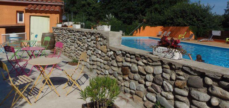 camping Pyrénées Orientales avec piscine