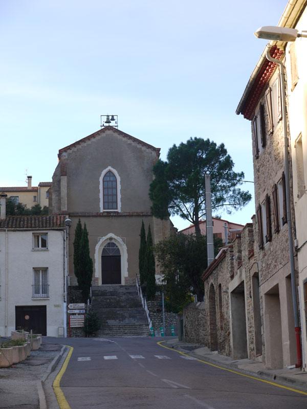 Eglise de Saint-Louis-Roi près du camping du Perthus